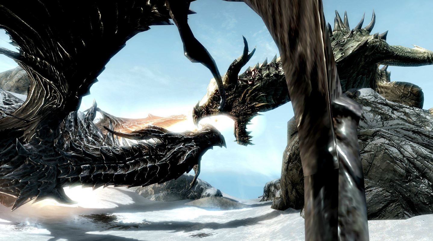 How to get past the Alduin invincible glitch in Skyrim
